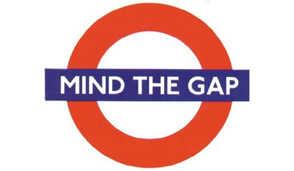 Please mind the gap! – Martino Agostini