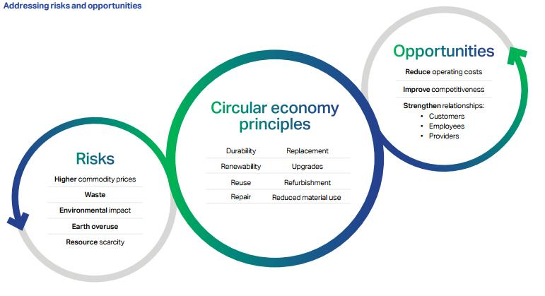 circular economy  Addressing risks and opportunities
